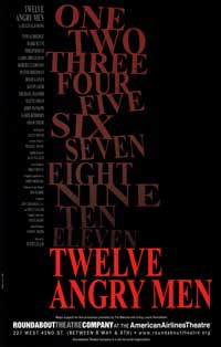 Twelve Angry Men (Broadway) - 27 x 40 Poster - Style A