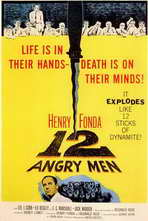 Twelve Angry Men - 27 x 40 Movie Poster - Style A