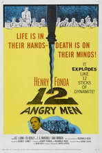 Twelve Angry Men - 27 x 40 Movie Poster - Style C