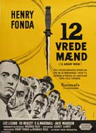 Twelve Angry Men - 11 x 17 Movie Poster - Danish Style A
