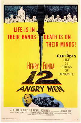 Twelve Angry Men - 11 x 17 Movie Poster - Style A
