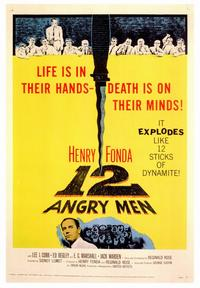 Twelve Angry Men - 43 x 62 Movie Poster - Bus Shelter Style A