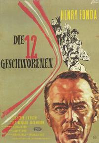 Twelve Angry Men - 11 x 17 Movie Poster - German Style A