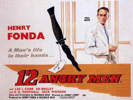 Twelve Angry Men - 11 x 17 Movie Poster - Style B