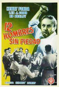 Twelve Angry Men - 11 x 17 Movie Poster - Spanish Style A