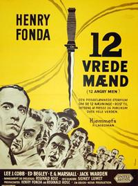 Twelve Angry Men - 11 x 17 Movie Poster - Russian Style A