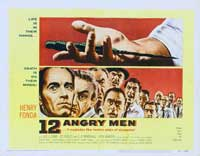 Twelve Angry Men - 22 x 28 Movie Poster - Half Sheet Style B