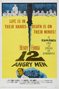 Twelve Angry Men - 11 x 17 Movie Poster - Style D