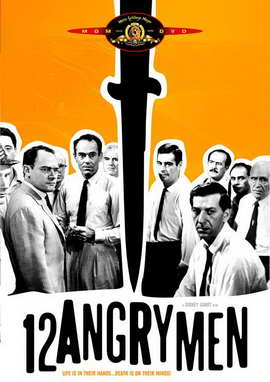 Twelve Angry Men - 11 x 17 Movie Poster - Style C