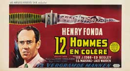 Twelve Angry Men - 11 x 17 Movie Poster - Belgian Style A