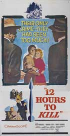Twelve Hours to Kill - 20 x 40 Movie Poster - Style A