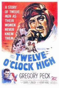 Twelve o'Clock High - 27 x 40 Movie Poster - Style A