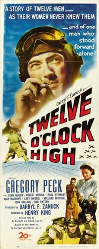 Twelve o'Clock High - 14 x 36 Movie Poster - Insert Style A