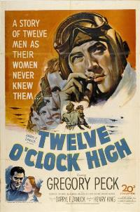 Twelve o'Clock High - 27 x 40 Movie Poster - Style B