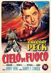Twelve o'Clock High - 11 x 17 Movie Poster - Italian Style A