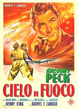 Twelve o'Clock High - 27 x 40 Movie Poster - Italian Style A