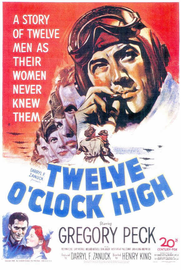 twelve oclock high movie posters from movie poster shop