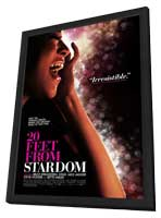 Twenty Feet from Stardom - 27 x 40 Movie Poster - Style A - in Deluxe Wood Frame