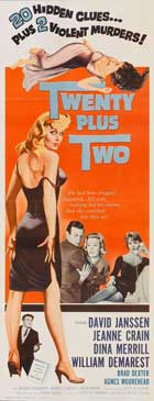 Twenty Plus Two - 14 x 36 Movie Poster - Insert Style A