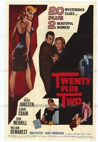 Twenty Plus Two - 27 x 40 Movie Poster - Style A