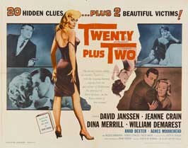 Twenty Plus Two - 22 x 28 Movie Poster - Style A