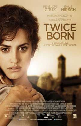 Twice Born - 11 x 17 Movie Poster - Style A - in Deluxe Wood Frame