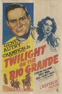Twilight on the Rio Grande - 27 x 40 Movie Poster - Style A