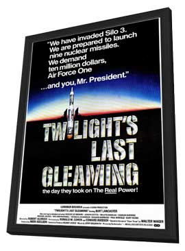Twilight's Last Gleaming - 11 x 17 Movie Poster - Style A - in Deluxe Wood Frame