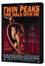 Twin Peaks: Fire Walk with Me - 11 x 17 Movie Poster - Style B - Museum Wrapped Canvas