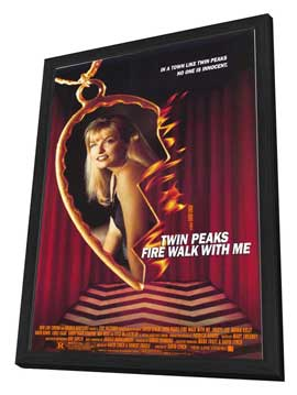Twin Peaks: Fire Walk with Me - 11 x 17 Movie Poster - Style A - in Deluxe Wood Frame