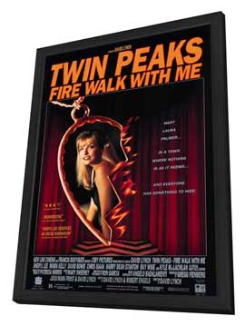 Twin Peaks: Fire Walk with Me - 11 x 17 Movie Poster - Style B - in Deluxe Wood Frame
