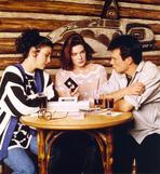 Twin Peaks - Twin Peaks Movie Scene with Sherilyn Fenn and Kyle Maclachlan and Sheryl Lee