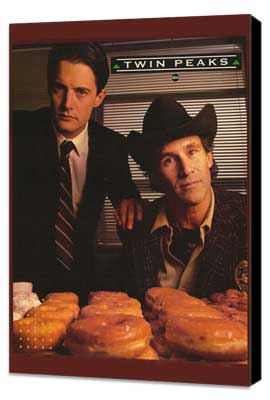Twin Peaks - 27 x 40 TV Poster - Style A - Museum Wrapped Canvas