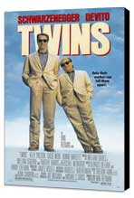 Twins - 11 x 17 Movie Poster - Style B - Museum Wrapped Canvas