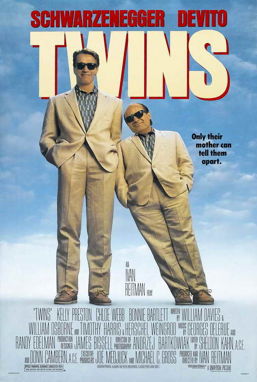 Twins Movie Posters From Movie Poster Shop