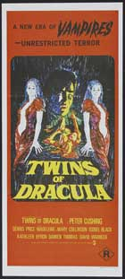 Twins of Evil - 13 x 30 Movie Poster - Australian Style A