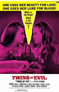 Twins of Evil - 11 x 17 Movie Poster - Style A