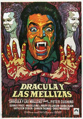 Twins of Evil - 11 x 17 Movie Poster - Spanish Style A
