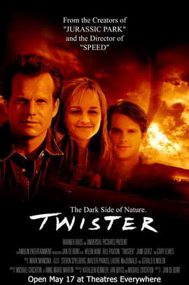 Twister - 27 x 40 Movie Poster - Style C