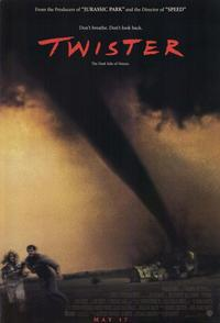 Twister - 11 x 17 Movie Poster - Style A - Museum Wrapped Canvas