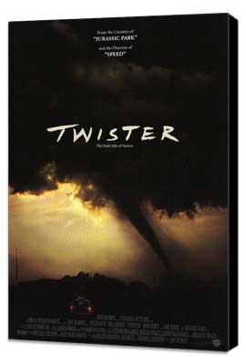 Twister - 27 x 40 Movie Poster - Style B - Museum Wrapped Canvas