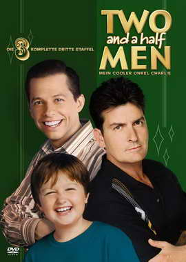 Two and a Half Men - 27 x 40 Movie Poster - German Style A