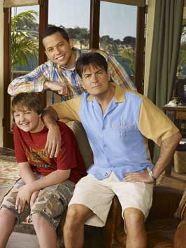 Two and a Half Men - 11 x 17 TV Poster - Style B