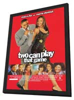 Two Can Play That Game - 11 x 17 Movie Poster - Style A - in Deluxe Wood Frame