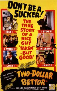 Two Dollar Bettor - 11 x 17 Movie Poster - Style A