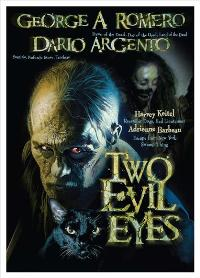 Two Evil Eyes - 11 x 17 Movie Poster - Danish Style A