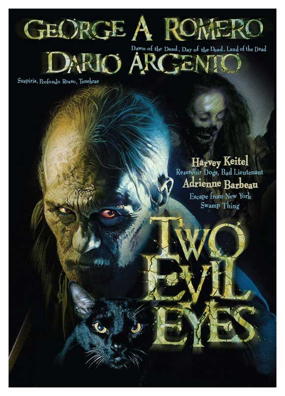 Two Evil Eyes Movie Posters From Movie Poster Shop