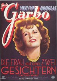Two-Faced Woman - 11 x 17 Movie Poster - German Style A