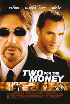 Two for the Money - 27 x 40 Movie Poster - Style B