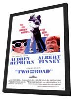 Two for the Road - 27 x 40 Movie Poster - Style A - in Deluxe Wood Frame
